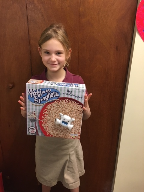 February Family Game Night Challenge Winner
